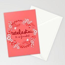 Tetelestai Stationery Cards