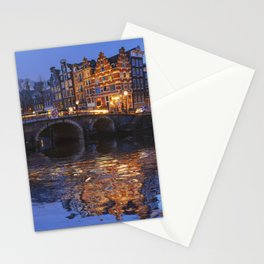 Papiermolensluis, Amsterdam, Netherlands ,Bridge Stationery Cards