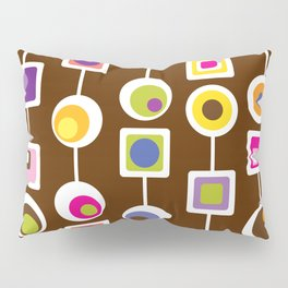 Mod Love Chocolate Pillow Sham