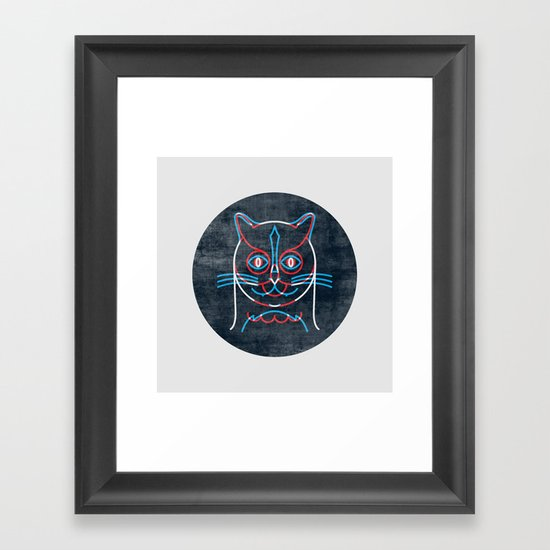 The Pussycat and The Owl Framed Art Print