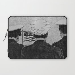 Standing at Attention Laptop Sleeve