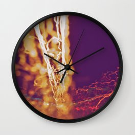 City (Light)s (Graffiti) 4 Wall Clock