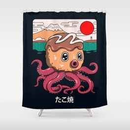 Octakoyaki Shower Curtain