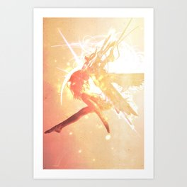 Fallen Angel Art Print