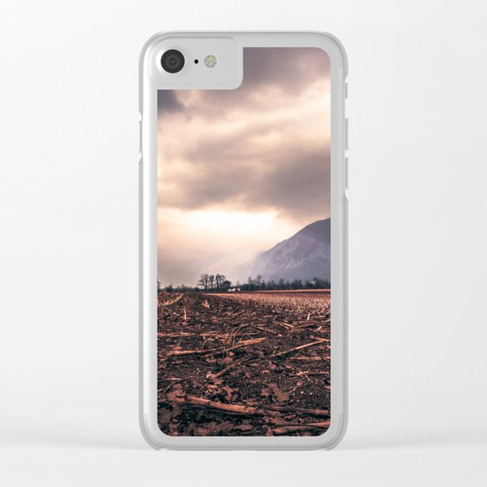 Wastelands Clear iPhone Case