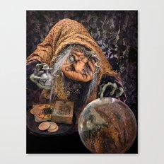 Rucus Studio Gypsy Hag Canvas Print