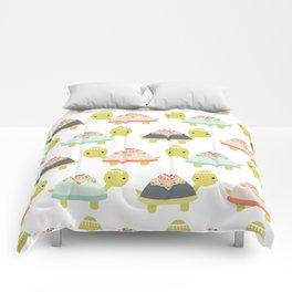 tribal turtle print Comforters