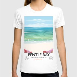 Pentle Bay,Tersco, isles of scilly T-shirt