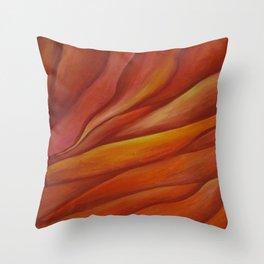 Mars Sunset Throw Pillow