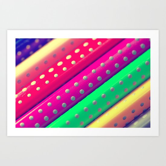 Rainbow Colors Art Print
