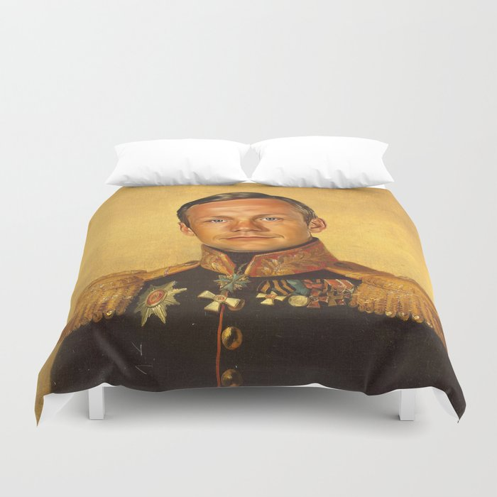 Neil Armstrong - replaceface Duvet Cover