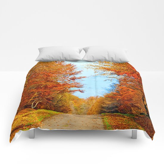 Through the fall Comforters