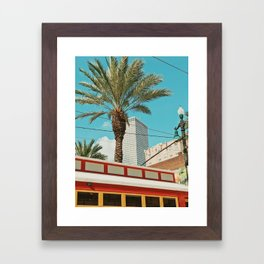 Downtown New Orleans Framed Art Print