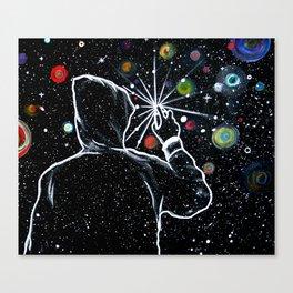 Write Universe -Galaxy Canvas Print