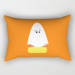 Ghost Candy corn, Bonbon fantôme - Halloween party Rectangular Pillow