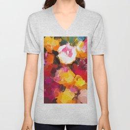 Delicious Floral Unisex V-Neck