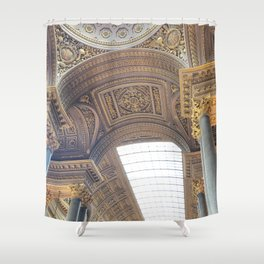 Palace Walls Shower Curtain