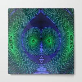 Dreamcatcher Alien Metal Print