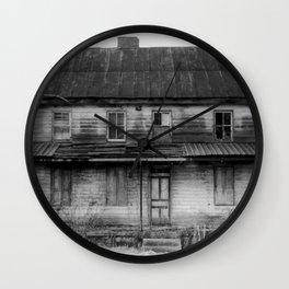Abandoned House Wall Clock