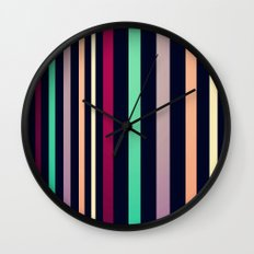 colorful lines! Wall Clock