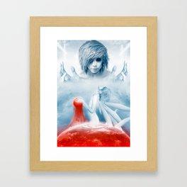 Noilegnave 1/2 Framed Art Print