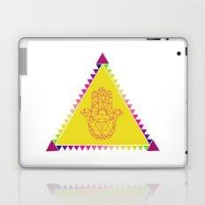 Merkaba Triangle Yellow Laptop & iPad Skin
