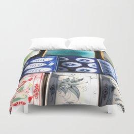 Ceramic Tableware Duvet Cover