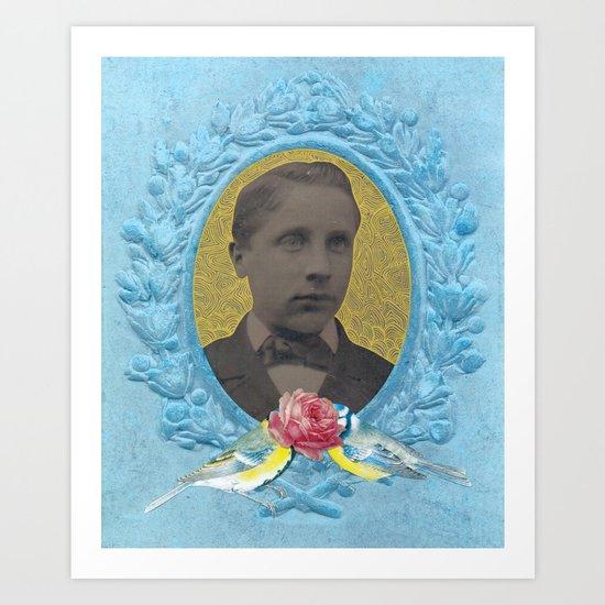 Boy Blue Art Print