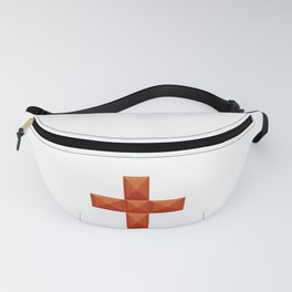 Plus sign print in beautiful design Fashion Modern Style Fanny Pack