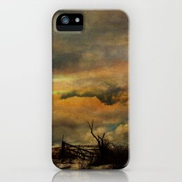 Time on The Mountain Top iPhone Case