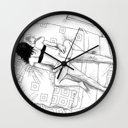 asc 547 - My New Year's resolutions - August Wall Clock