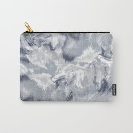 Marble Mist Cool Grey Carry-All Pouch