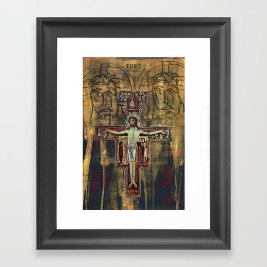 Crucifixion Framed Art Print