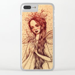 Forest Fairy Clear iPhone Case