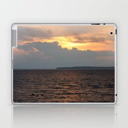 Lake Huron Sunrise Laptop & iPad Skin