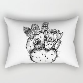 Cactus Flower Rectangular Pillow