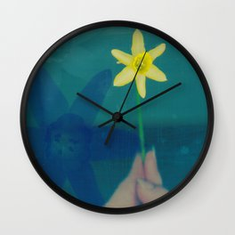 Blue moon Wall Clock