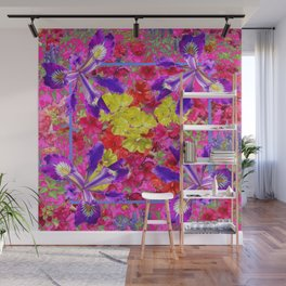 Awesome Spring Floral Garden Nature Art Wall Mural