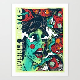 Reimagine Palahniuk - Invisible Monsters Art Print