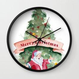 christmas 2 Wall Clock