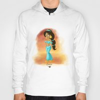 jasmine Hoodies featuring Jasmine by Khatii