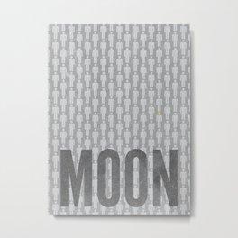 Moon Minimalist Poster Metal Print