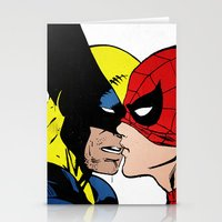 heroes Stationery Cards featuring Heroes by Alex Cherry