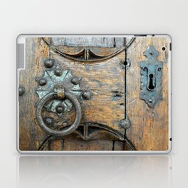 Church door Laptop & iPad Skin