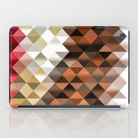 triangle iPad Cases featuring Triangle by Susann Mielke