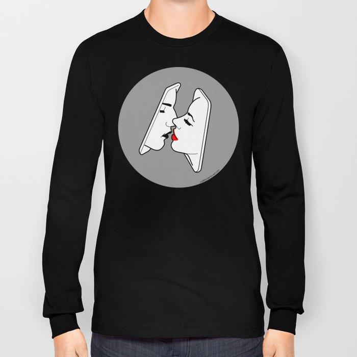 Smart kiss Long Sleeve T-shirt