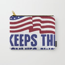 A PLEDGE A DAY KEEPS THE COMMIES AWAY T-SHIRT Carry-All Pouch