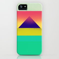 Purple Pyramid iPhone (5, 5s) Slim Case