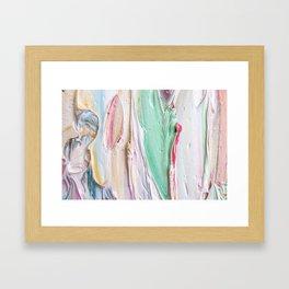 Pastel Paint 1 Framed Art Print