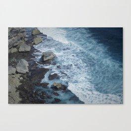 Uluwatu Waters Canvas Print